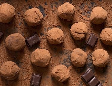 polveri cioccolato gelateria dolcelinea