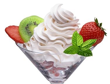 panna vegetale gelateria dolcelinea