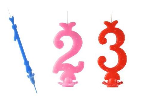 candele e numeri