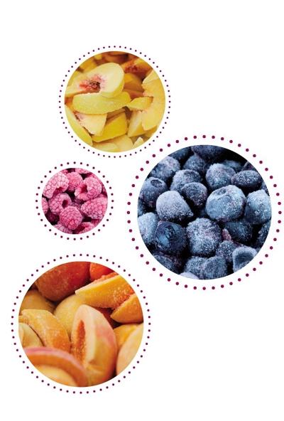frutta intera dolcelinea surgelato prodotti