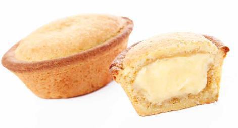 pasticciotto alla crema 39% surgelato dolcelinea